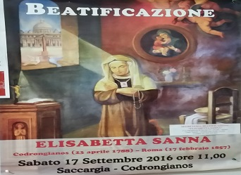 E Sanna Beatification