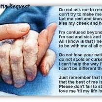 Dementia Request