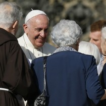 Pope's Meeting With Elderly