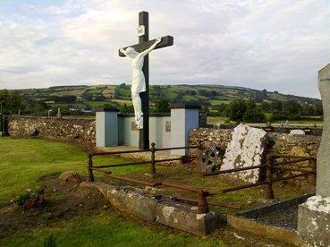 Cross in Old Graveyard Doon