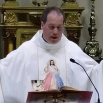HOMILY OF NEWLY ORDAINED FR. CHARLES LAFFERTY SAC: First Mass of Thanksgiving