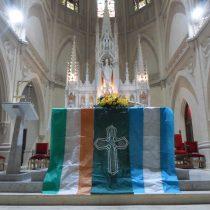 Celebration of 130 of San Patricio in Mercedes Argentina