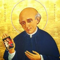 The Benedicite of St Vincent Pallotti